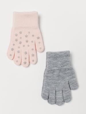Набор перчаток (2 пары) | 5683305