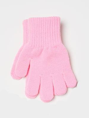 Перчатки розовые | 5683353