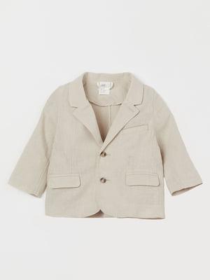 Пиджак бежевый | 5683817