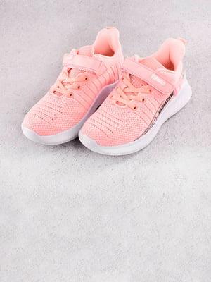 Кроссовки розовые | 5643600