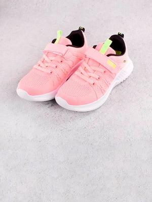 Кроссовки розовые | 5643624
