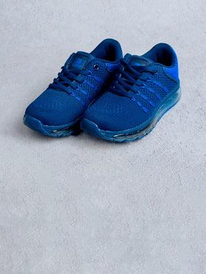 Кроссовки синие | 5643935