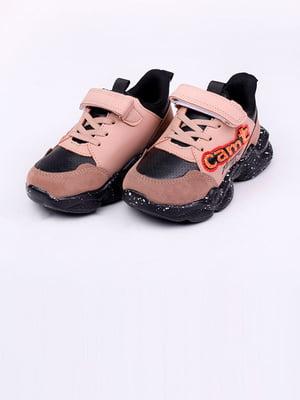 Кроссовки черно-коричневые | 5644710