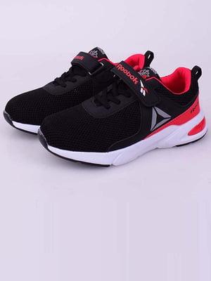 Кросівки чорно-червоні | 5645283