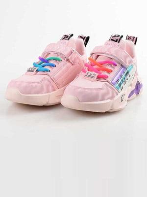 Кроссовки розовые | 5645544
