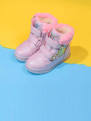 Черевики рожевого кольору з декором   5648061