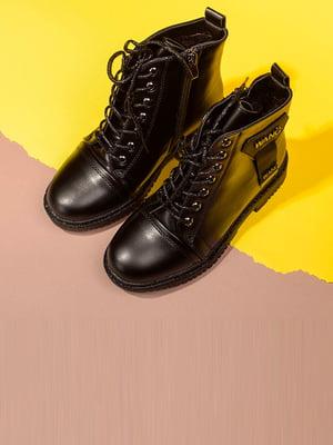Черевики чорні | 5648427