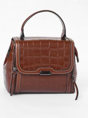 Сумка-рюкзак коричневая | 3476048