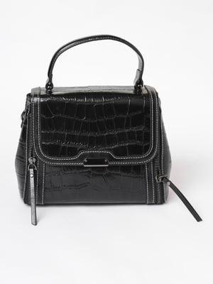Сумка-рюкзак чорна | 3476049