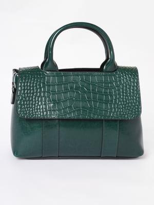 Сумка зеленого кольору | 5695739