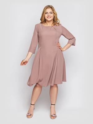 Платье цвета кофе | 5703053