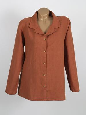 Сорочка помаранчевого кольору | 5661375
