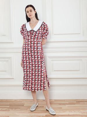Сукня у квітковий принт | 5702826