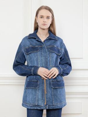 Куртка джинсова синя | 5702919