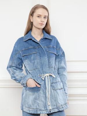 Куртка джинсова синя | 5702920