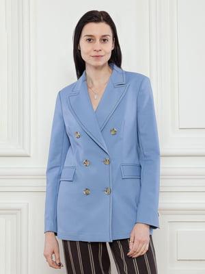 Жакет голубой | 5702937