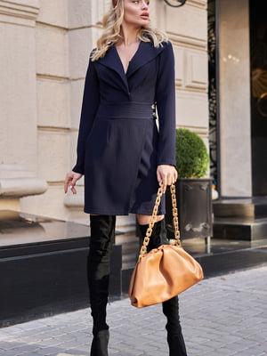 Платье темно-синее | 5703287