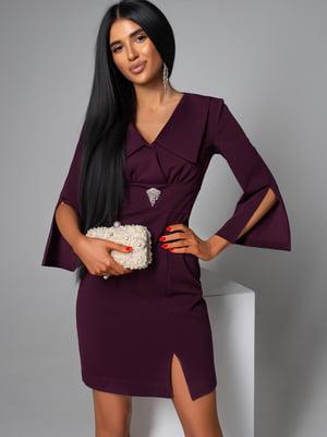 Платье цвета марсал | 5703301