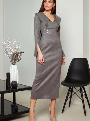 Платье серое | 5703304