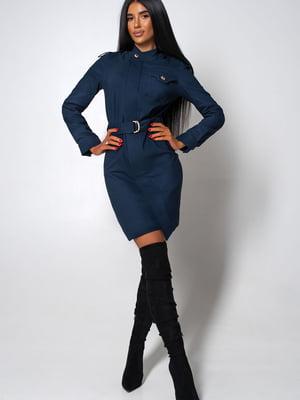 Платье темно-синее | 5703312