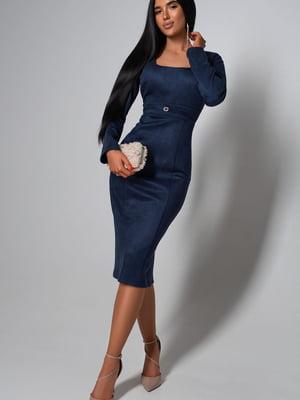 Платье темно-синее | 5703319