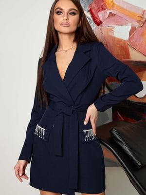 Платье синее | 5703322