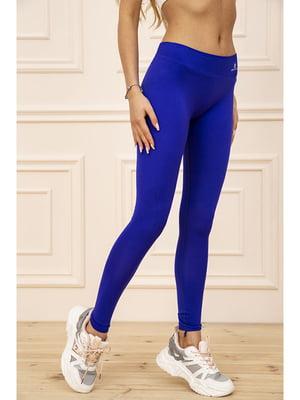 Легінси спортивні сині | 5703813