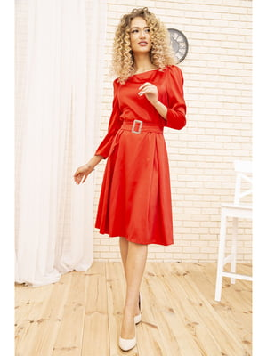 Платье красного цвета | 5703878
