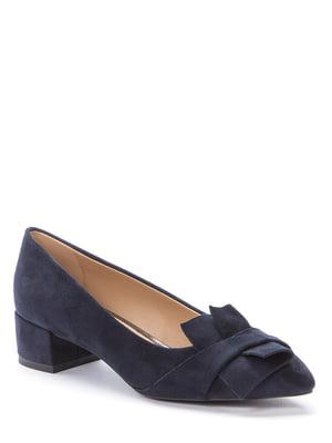 Туфлі темно-сині | 5696870