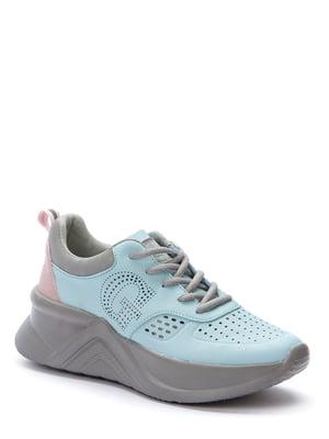 Кросівки світло-блакитні | 5696880