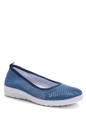 Мокасины синие | 5696887