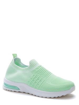 Кросівки зелені | 5696907