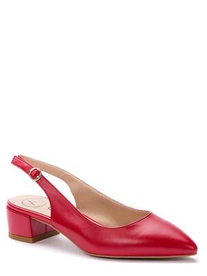 Босоніжки червоні | 5696966