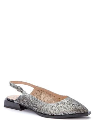 Босоніжки сріблястого кольору | 5696971