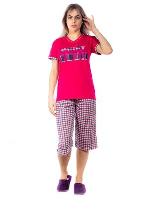 Піжама: футболка та бриджі | 5653015