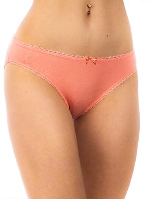 Трусы персикового цвета | 5653025