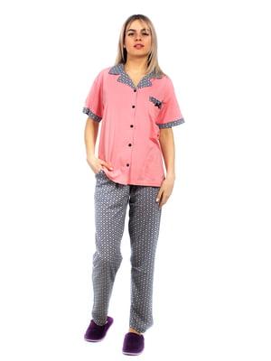 Пижама: рубашка и брюки | 5704249