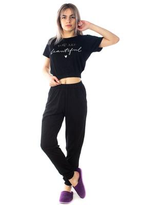 Пижама: футболка и брюки | 5704256