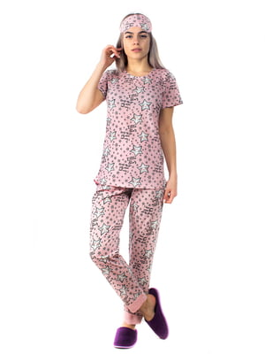 Пижама: футболка и брюки | 5704258