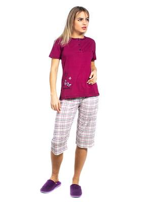 Пижама: футболка-поло и бриджи | 5704262
