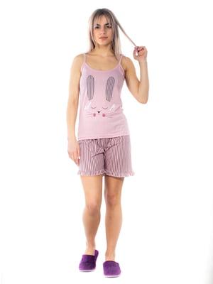 Пижама: майка и шорты | 5704276
