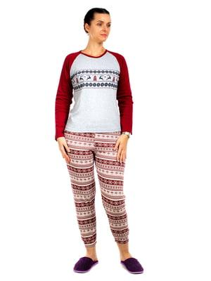 Піжама: реглан і штани | 5704280