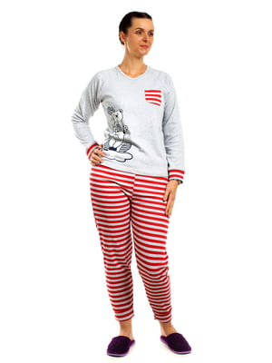 Пижама: реглан и брюки | 5704282