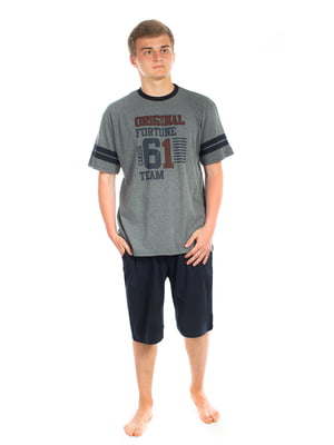 Пижама: футболка и шорты | 5704298