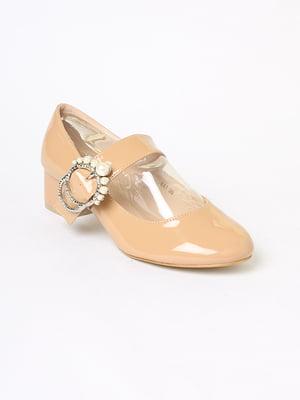 Туфли бежевого цвета | 5701401