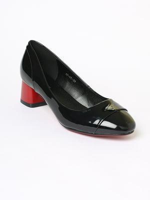 Туфлі чорні | 5701399