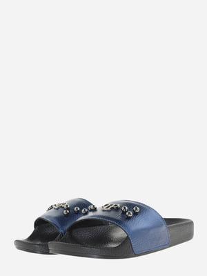 Шлепанцы синие   5690883