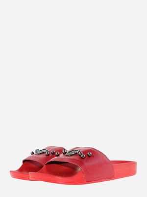 Шлепанцы красного цвета | 5690896