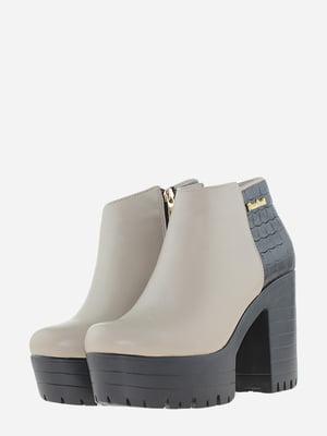 Ботинки двухцветные | 5696987