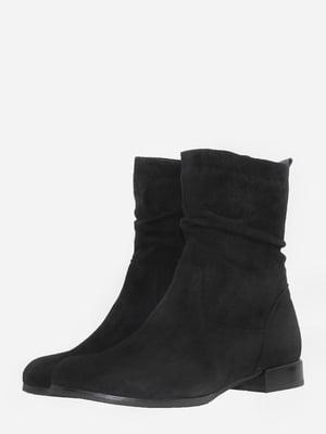 Ботинки черные   5703120